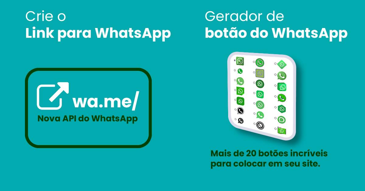 Gerador de Link e Botão WhatsApp